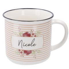 Becher Floral, Nicole, 300 ml