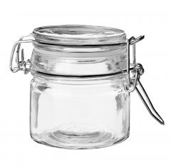 Vorratsglas mit Bügelverschluss, 80 ml