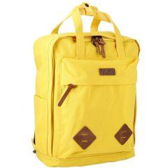 Rucksack Pia, gelb, 39 cm