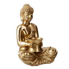Buddha Laos, gold, 38 cm