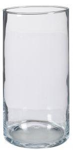 Glas-Vase Zylinder, 35 cm