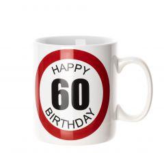 Becher 60. Geburtstag, 750 ml