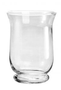Glas-Windlicht, Höhe 15cm