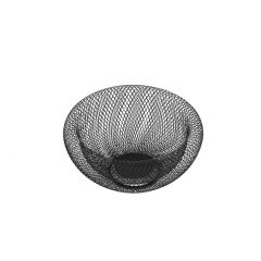 Korb Design, schwarz, 24 cm