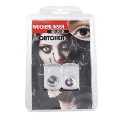 2er Set Kontaktlinse Grusel, H-Riser