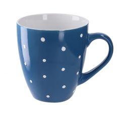 Becher Punkte, blau, 350 ml