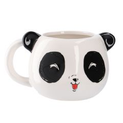 Becher Panda, große Augen, 500 ml