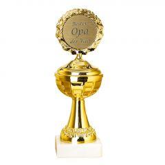 Pokal Bester Opa, 22 cm