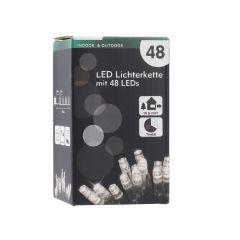 LED-Lichterkette Funktion, warm weiß, 48er