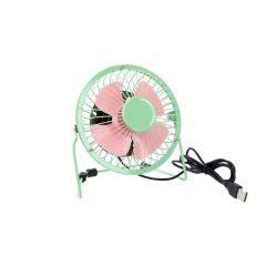 Ventilator USB, grün, 15 cm