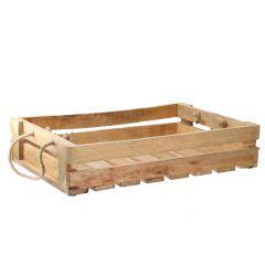 Holztablett Seil, 46 cm