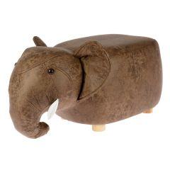 Hocker Tier, Elefant, 63 cm