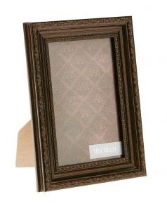 Bilderrahmen Barock, braun, 10 x 15 cm