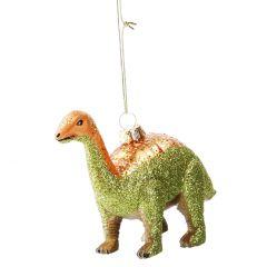 Baumschmuck Dino, grün, 14 cm