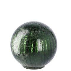 Deko-Kugel Craquele, grün/glänzend, 10 cm