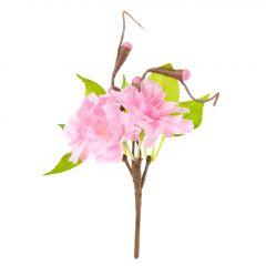 Deko-Stecker Kirschblüte, rosa, 14 cm