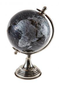 Globus Vintage, schwarz/silber, 27 cm