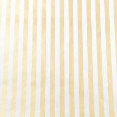 Geschenkpapier Gold/Streifen, 2 m