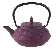 Gusseisen Teekanne, flieder