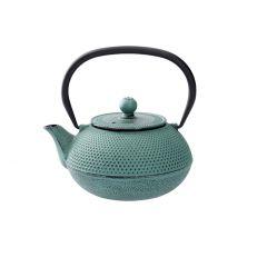 Gusseisen Teekanne, grün