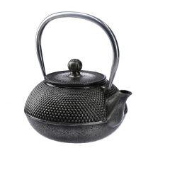 Gusseisen Teekanne, silber