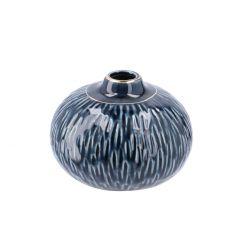 Vase Amila, blau, 8 cm
