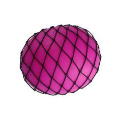 Quetschball im Netz XXL, pink