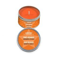 Duftkerze Dose, Xmas, Zimt-Orange