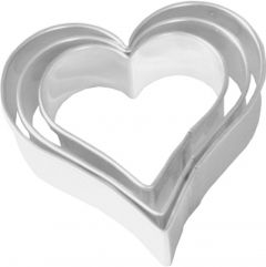 Ausstechform Herz, 3er Set
