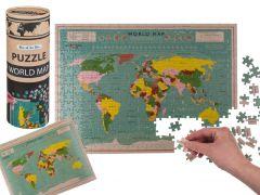 Puzzle Weltkarte, 300 Teile