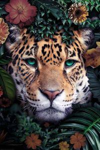 Poster Wildlife Flowers, Nr. 203