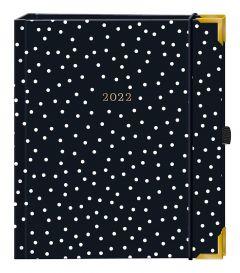 Terminplaner Premium 2022, schwarz
