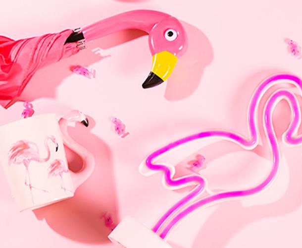 Flamingo Deko bei Nanu Nana